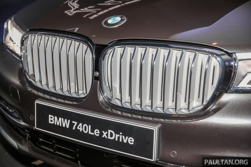 G12 BMW 7 Series plug-in hybrid officially introduced in Malaysia – 740Le xDrive, locally-assembled, RM599k Image #648132