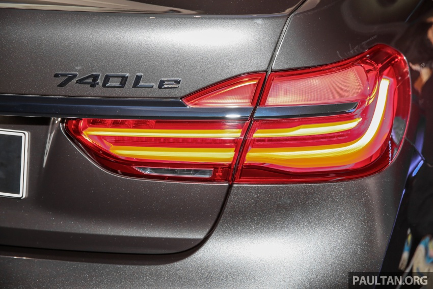 G12 BMW 7 Series plug-in hybrid officially introduced in Malaysia – 740Le xDrive, locally-assembled, RM599k Image #648146
