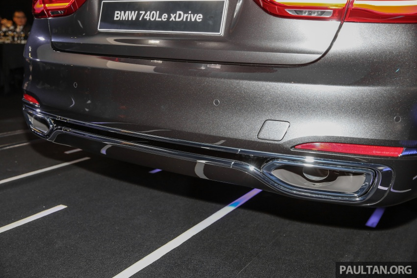 G12 BMW 7 Series plug-in hybrid officially introduced in Malaysia – 740Le xDrive, locally-assembled, RM599k Image #648147