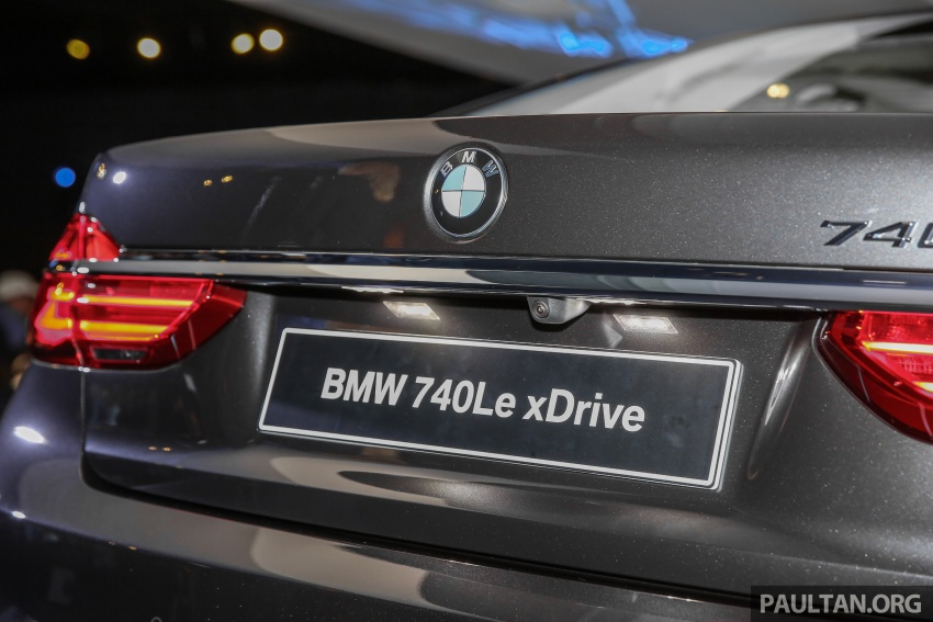 G12 BMW 7 Series plug-in hybrid officially introduced in Malaysia – 740Le xDrive, locally-assembled, RM599k Image #648148