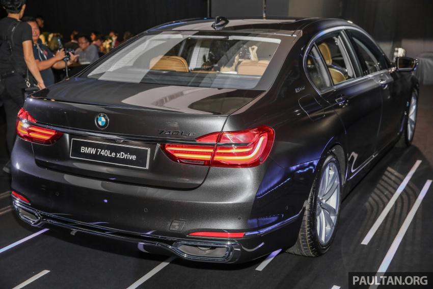 G12 BMW 7 Series plug-in hybrid officially introduced in Malaysia – 740Le xDrive, locally-assembled, RM599k Image #648125