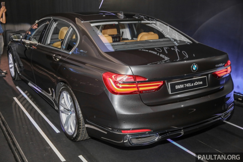 G12 BMW 7 Series plug-in hybrid officially introduced in Malaysia – 740Le xDrive, locally-assembled, RM599k Image #648126