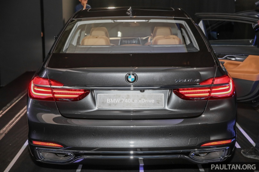 G12 BMW 7 Series plug-in hybrid officially introduced in Malaysia – 740Le xDrive, locally-assembled, RM599k Image #648128