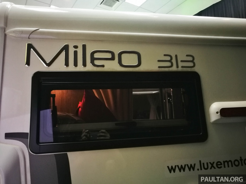 Benimar Mileo motorhomes in Malaysia, from RM609k – 13 caravan models available, sleeps up to six Image #648320