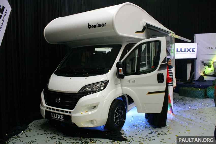 Benimar Mileo motorhomes in Malaysia, from RM609k – 13 caravan models available, sleeps up to six Image #648322