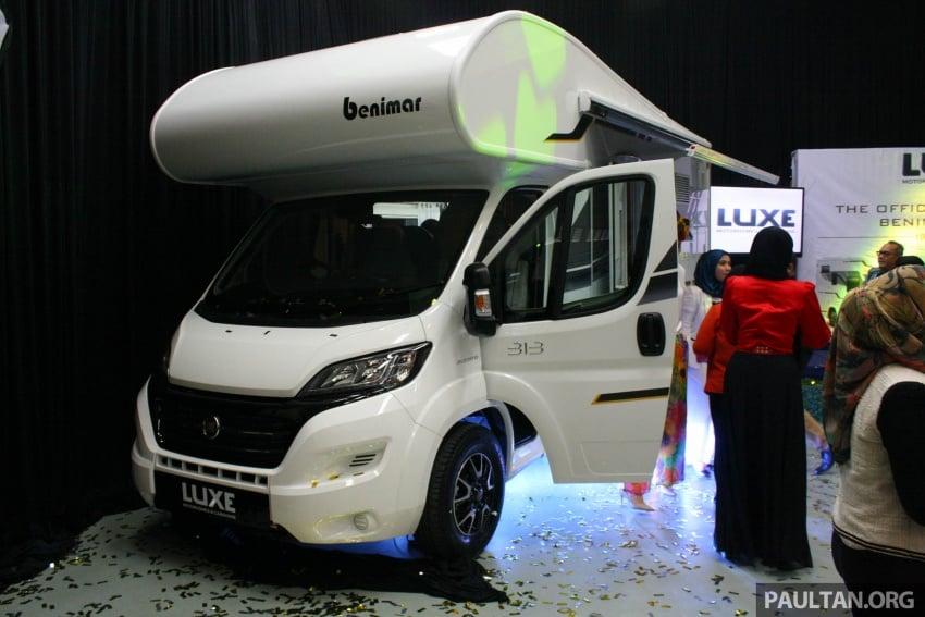 Benimar Mileo motorhome kini dipasarkan di Malaysia  – 13 model karavan, harga bermula RM609k Image #648660