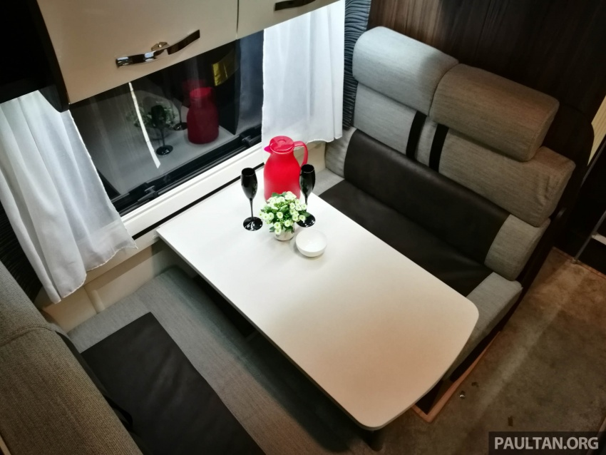 Benimar Mileo motorhomes in Malaysia, from RM609k – 13 caravan models available, sleeps up to six Image #648324