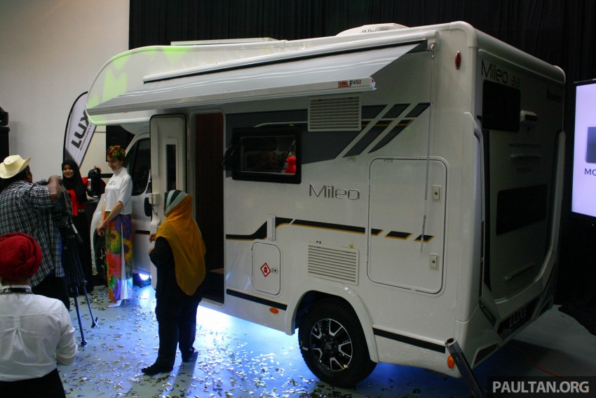 Benimar Mileo motorhomes in Malaysia, from RM609k – 13 caravan models available, sleeps up to six Image #648334
