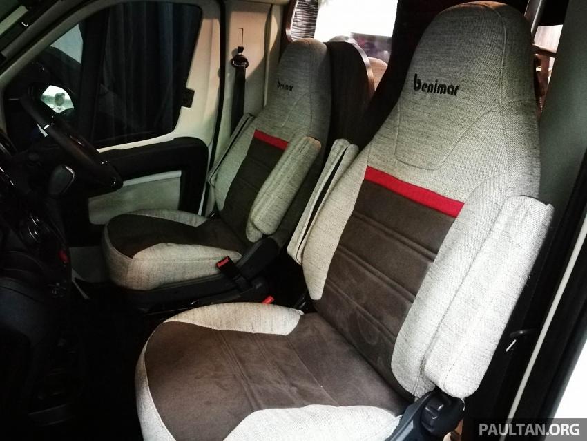 Benimar Mileo motorhome kini dipasarkan di Malaysia  – 13 model karavan, harga bermula RM609k Image #648645
