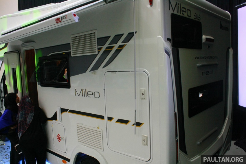 Benimar Mileo motorhomes in Malaysia, from RM609k – 13 caravan models available, sleeps up to six Image #648338