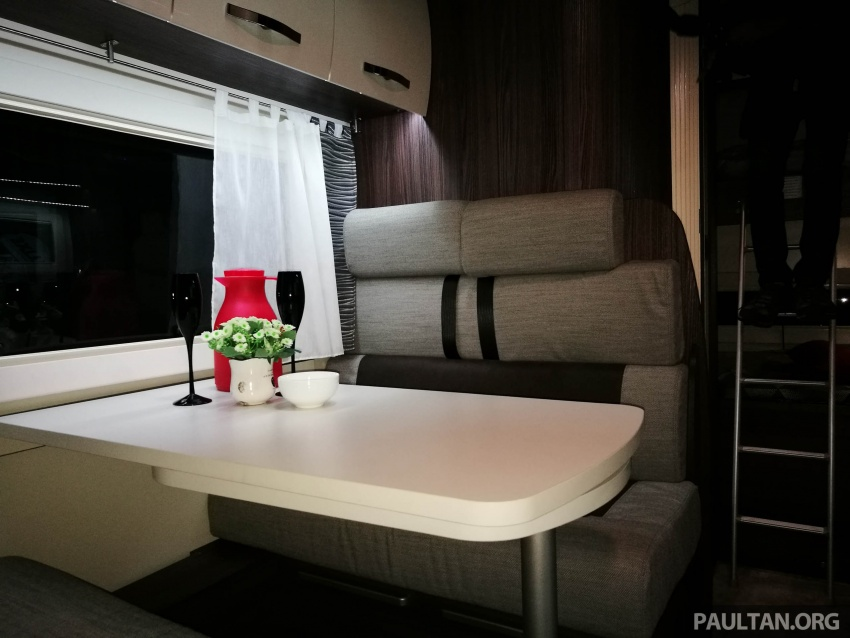 Benimar Mileo motorhomes in Malaysia, from RM609k – 13 caravan models available, sleeps up to six Image #648342