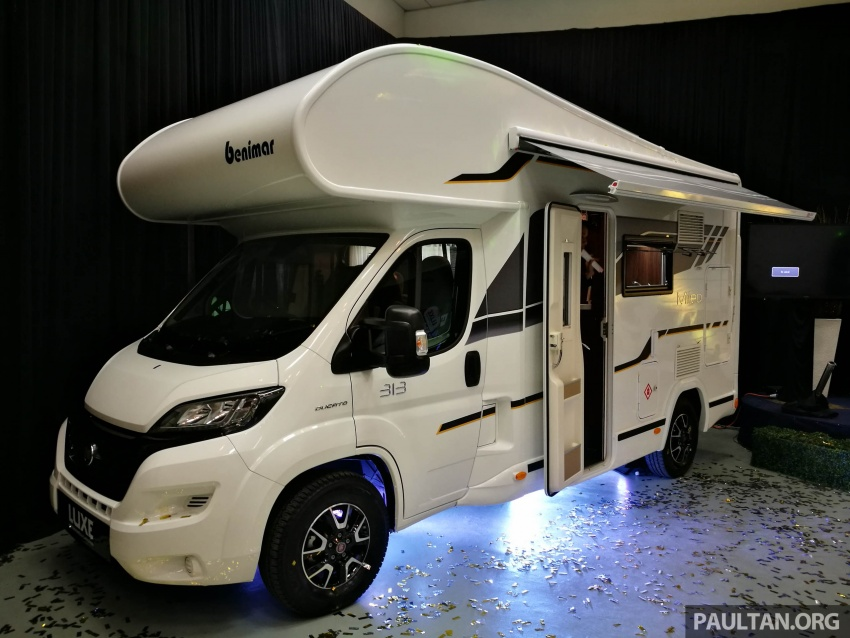 Benimar Mileo motorhomes in Malaysia, from RM609k – 13 caravan models available, sleeps up to six Image #648392