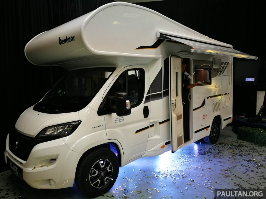 Benimar Mileo motorhomes in Malaysia, from RM609k – 13 caravan models available, sleeps up to six Image #648397