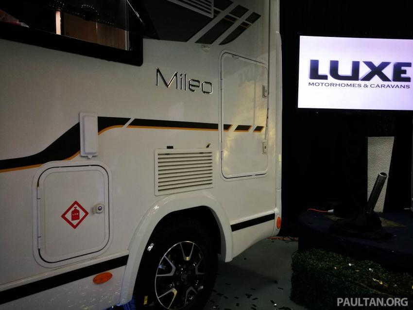 Benimar Mileo motorhome kini dipasarkan di Malaysia  – 13 model karavan, harga bermula RM609k Image #648650