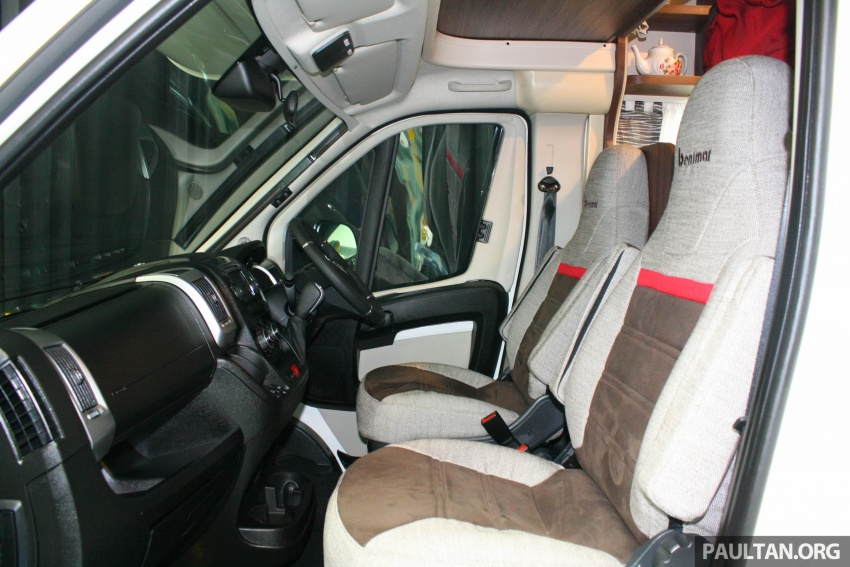 Benimar Mileo motorhomes in Malaysia, from RM609k – 13 caravan models available, sleeps up to six Image #648315