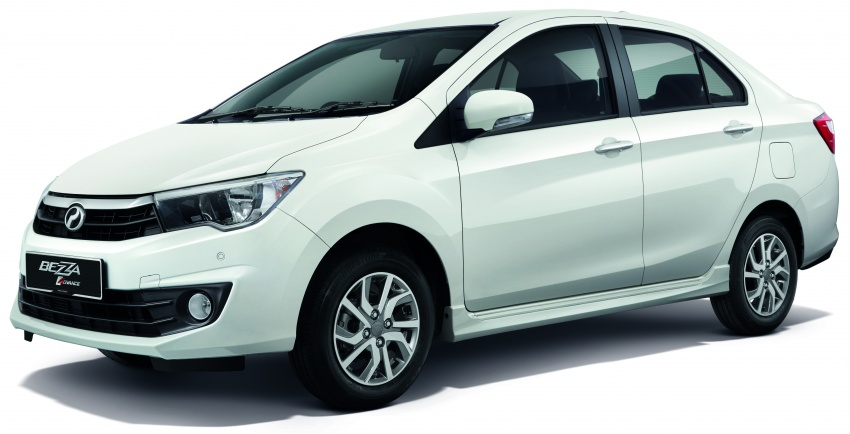 Perodua Bezza updated new rear bumper, chrome interior trim, leather upholstery – no change in price Image #646139