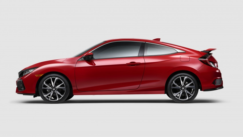 Honda Civic Si sedan, coupe revealed: 205 hp, 260 Nm Image #641791