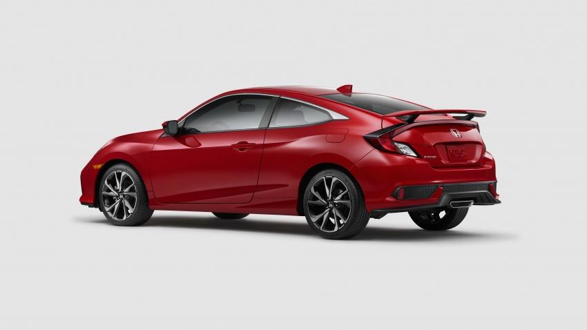 Honda Civic Si sedan, coupe revealed: 205 hp, 260 Nm Image #641793
