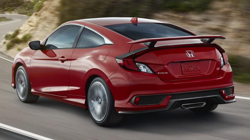 Honda Civic Si sedan, coupe revealed: 205 hp, 260 Nm Image #641842