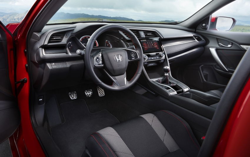 Honda Civic Si sedan, coupe revealed: 205 hp, 260 Nm Image #641796