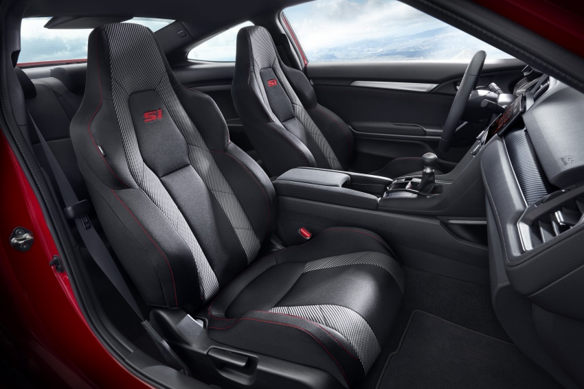 Honda Civic Si sedan, coupe revealed: 205 hp, 260 Nm Image #641798