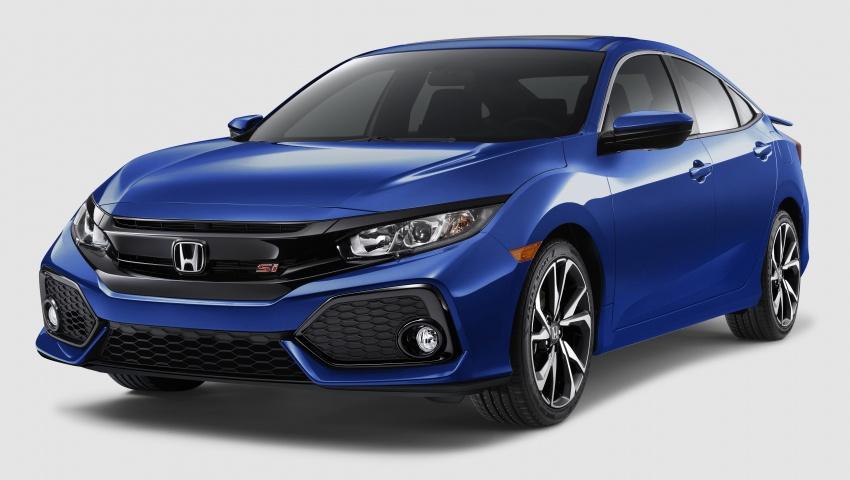 Honda Civic Si sedan, coupe revealed: 205 hp, 260 Nm Image #641800