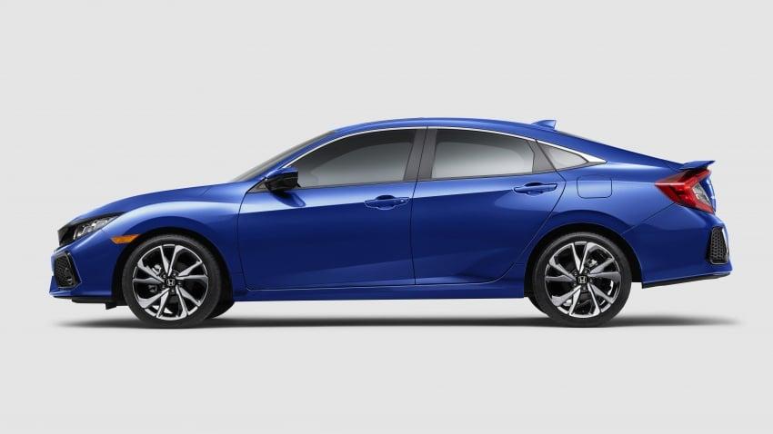 Honda Civic Si sedan, coupe revealed: 205 hp, 260 Nm Image #641801