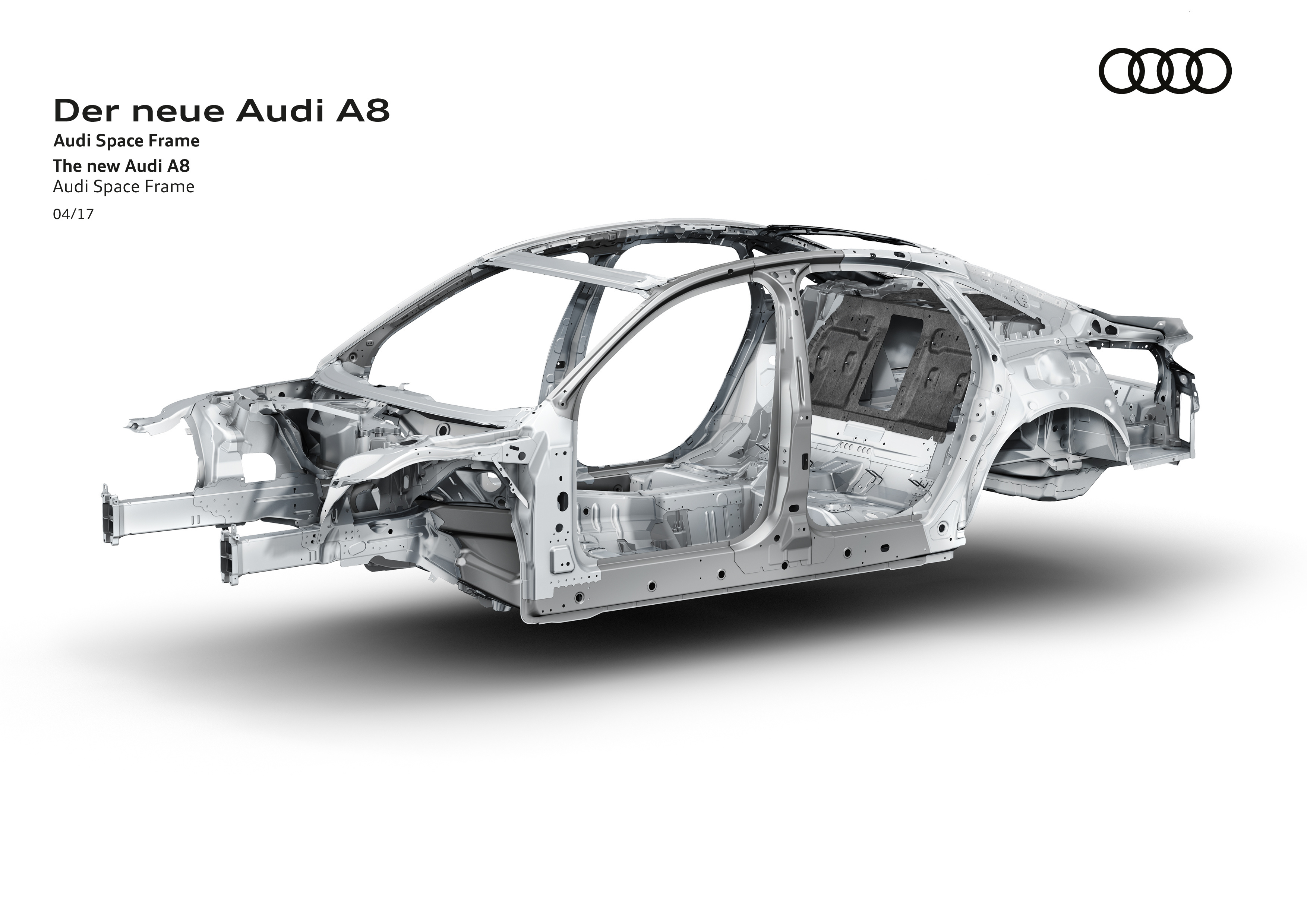 D5 Audi A8 To Use Multi Material Space Frame Chassis Image 640808