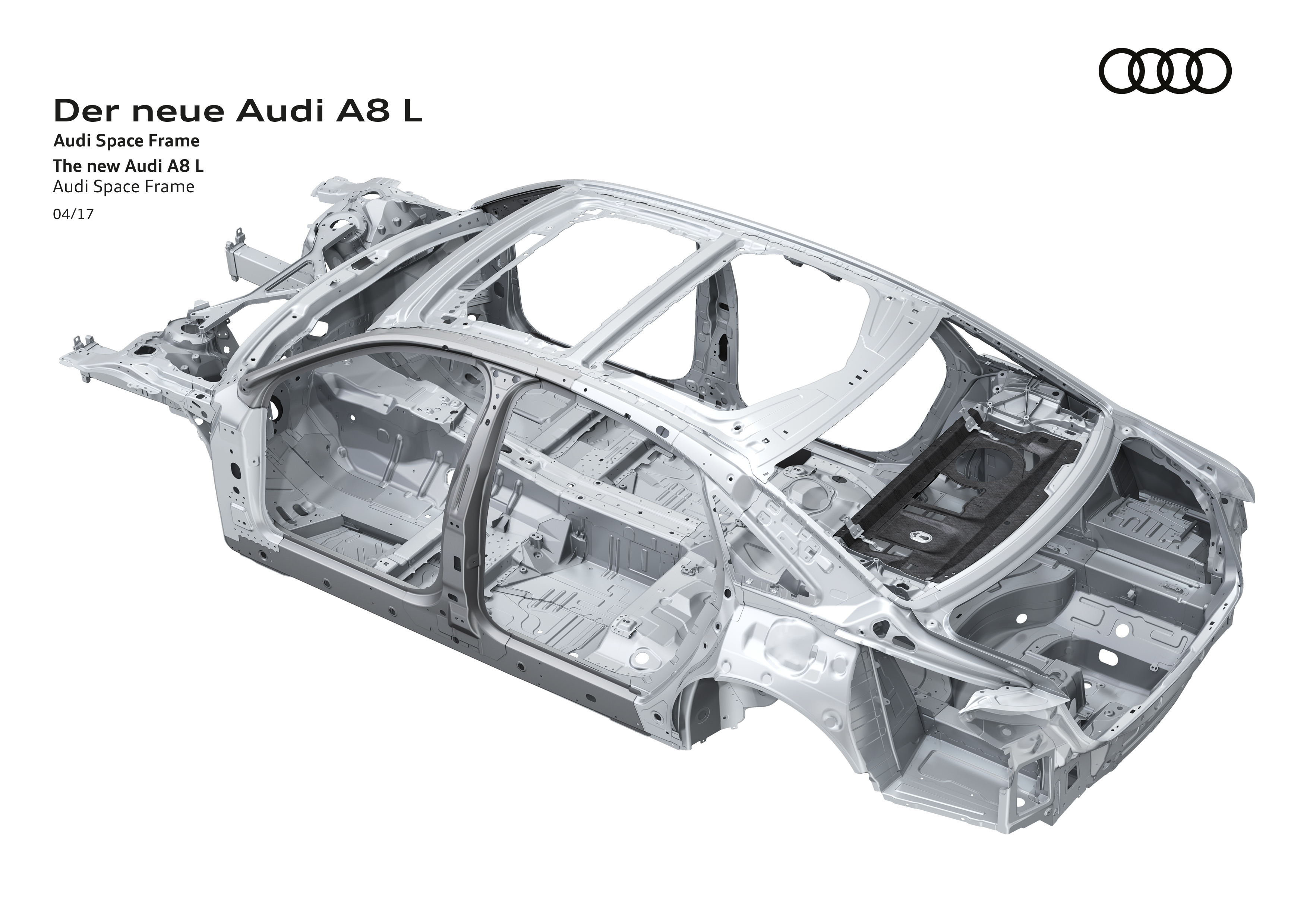 D5 Audi A8 to use multi-material space frame chassis Paul Tan - Image 640817