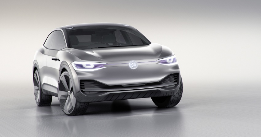 Volkswagen I.D. Crozz – coupe/SUV crossover EV debuts with 306 PS, all-wheel drive, 500 km range Image #647129