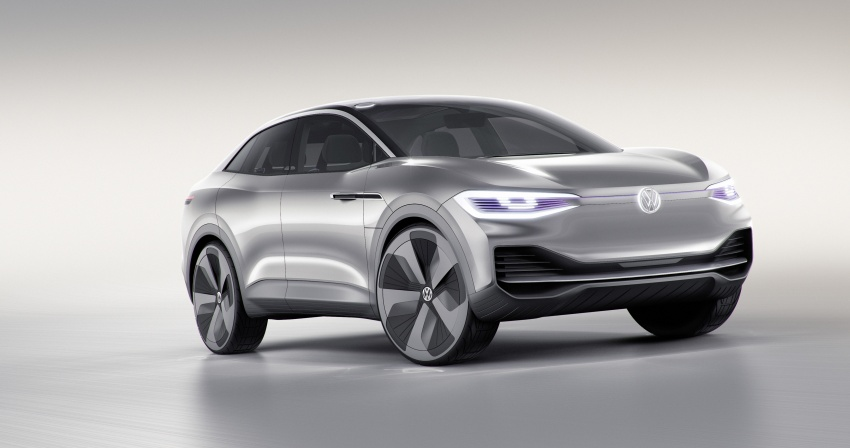 Volkswagen I.D. Crozz – coupe/SUV crossover EV debuts with 306 PS, all-wheel drive, 500 km range Image #647130