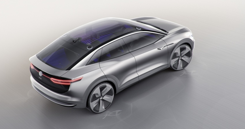 Volkswagen I.D. Crozz – coupe/SUV crossover EV debuts with 306 PS, all-wheel drive, 500 km range Image #647132