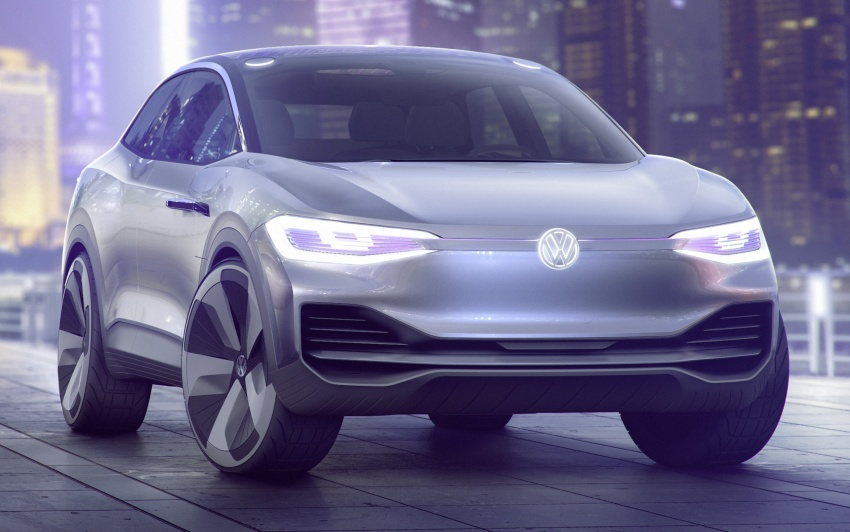 Volkswagen I.D. Crozz – coupe/SUV crossover EV debuts with 306 PS, all-wheel drive, 500 km range Image #647134