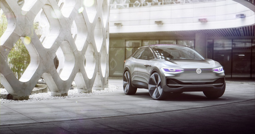 Volkswagen I.D. Crozz – coupe/SUV crossover EV debuts with 306 PS, all-wheel drive, 500 km range Image #647136