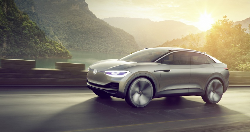 Volkswagen I.D. Crozz – coupe/SUV crossover EV debuts with 306 PS, all-wheel drive, 500 km range Image #647139