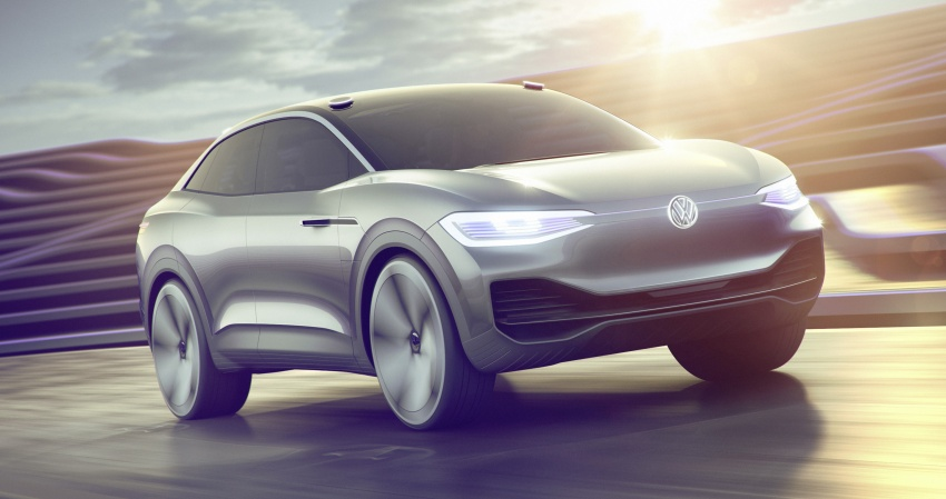 Volkswagen I.D. Crozz – coupe/SUV crossover EV debuts with 306 PS, all-wheel drive, 500 km range Image #647141