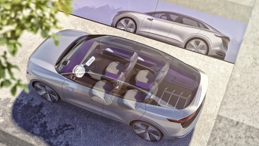 Volkswagen I.D. Crozz – coupe/SUV crossover EV debuts with 306 PS, all-wheel drive, 500 km range Image #647146