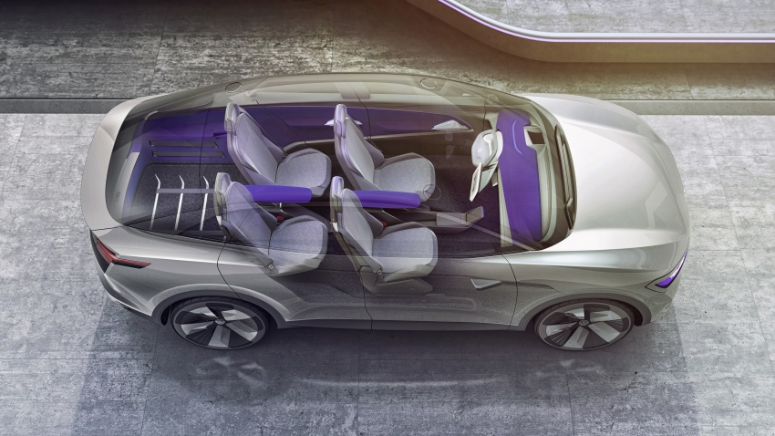 Volkswagen I.D. Crozz – coupe/SUV crossover EV debuts with 306 PS, all-wheel drive, 500 km range Image #647147