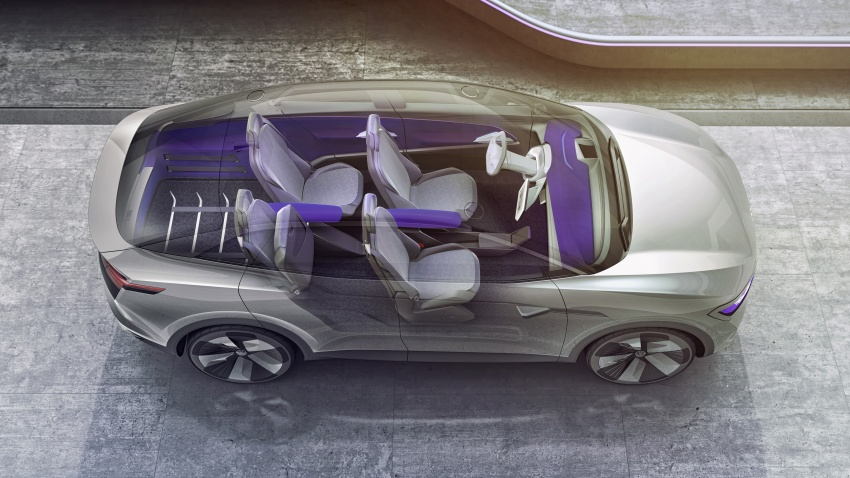 Volkswagen I.D. Crozz – coupe/SUV crossover EV debuts with 306 PS, all-wheel drive, 500 km range Image #647148