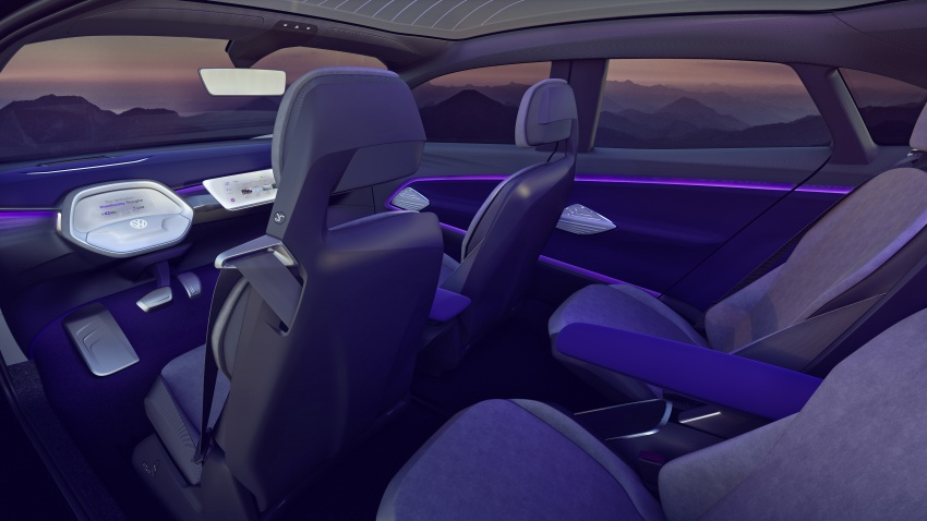 Volkswagen I.D. Crozz – coupe/SUV crossover EV debuts with 306 PS, all-wheel drive, 500 km range Image #647153