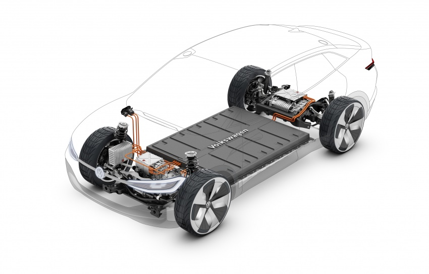 Volkswagen I.D. Crozz – coupe/SUV crossover EV debuts with 306 PS, all-wheel drive, 500 km range Image #647155