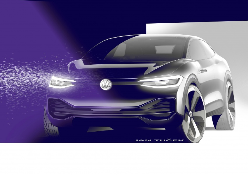 Volkswagen I.D. Crozz – coupe/SUV crossover EV debuts with 306 PS, all-wheel drive, 500 km range Image #647161