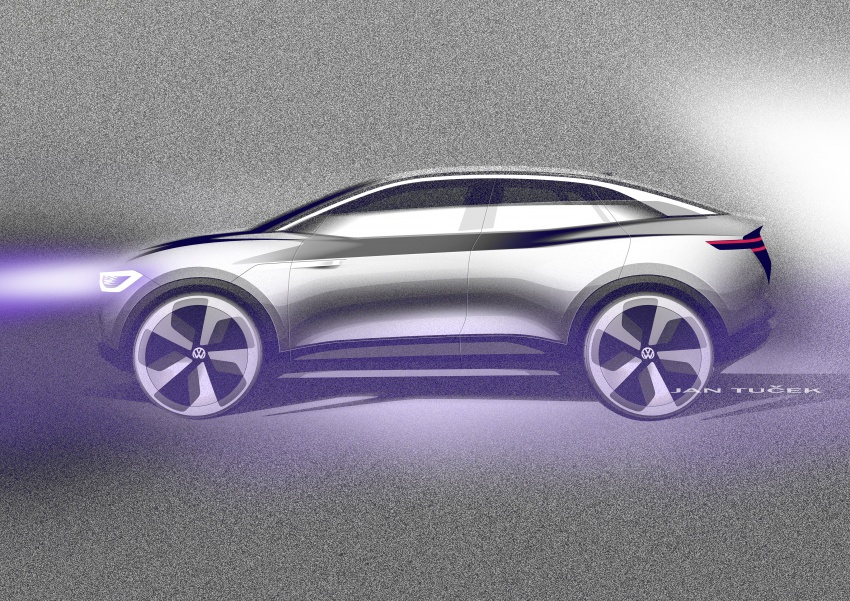 Volkswagen I.D. Crozz – coupe/SUV crossover EV debuts with 306 PS, all-wheel drive, 500 km range Image #647163