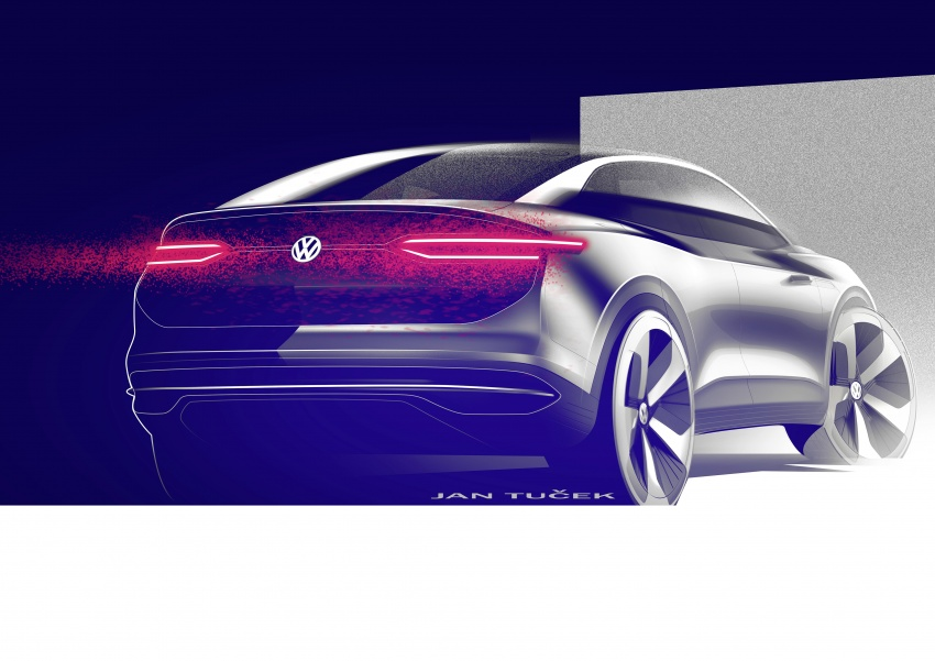 Volkswagen I.D. Crozz – coupe/SUV crossover EV debuts with 306 PS, all-wheel drive, 500 km range Image #647164