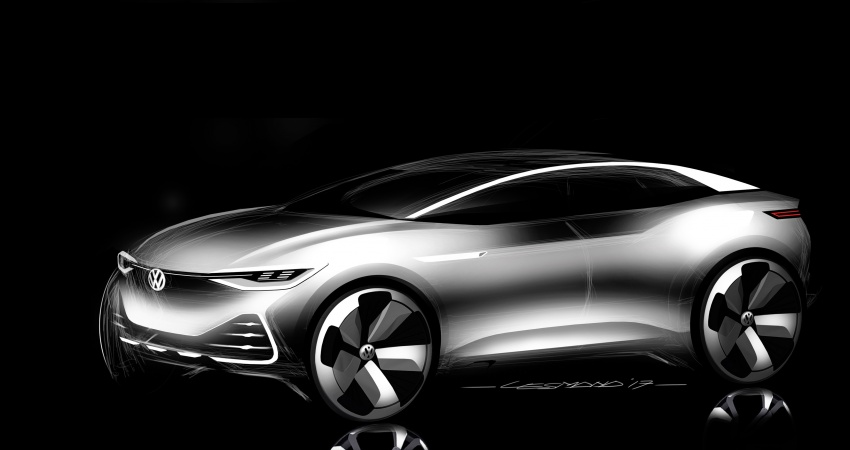 Volkswagen I.D. Crozz – coupe/SUV crossover EV debuts with 306 PS, all-wheel drive, 500 km range Image #647165