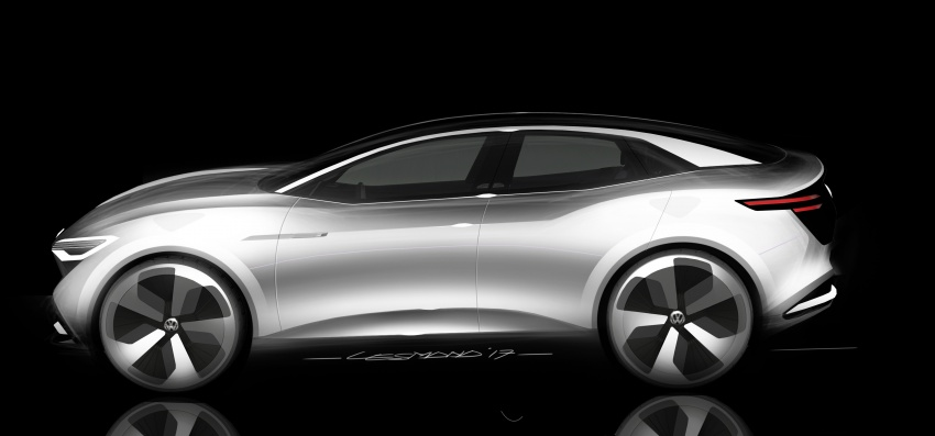 Volkswagen I.D. Crozz – coupe/SUV crossover EV debuts with 306 PS, all-wheel drive, 500 km range Image #647166