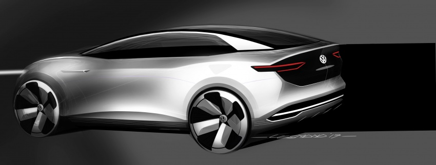 Volkswagen I.D. Crozz – coupe/SUV crossover EV debuts with 306 PS, all-wheel drive, 500 km range Image #647168