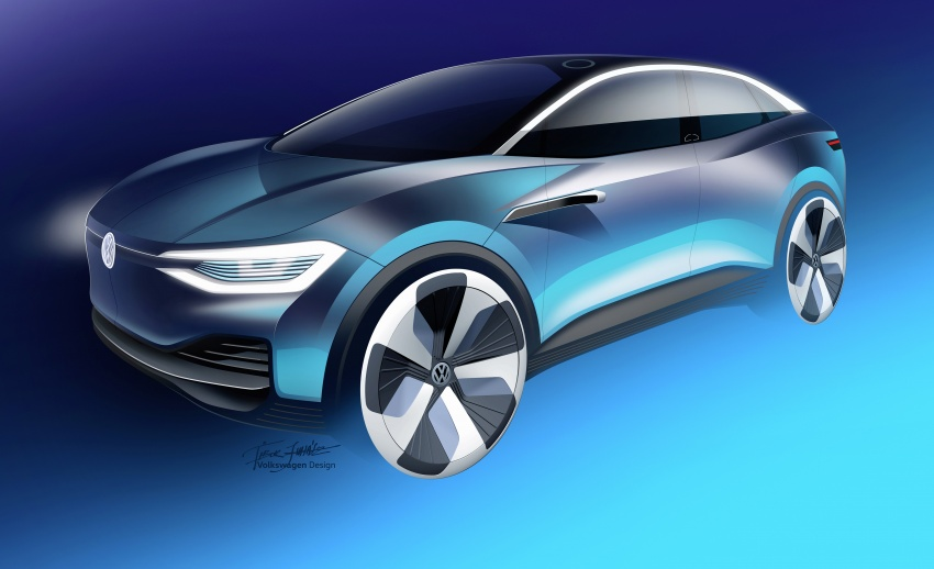 Volkswagen I.D. Crozz – coupe/SUV crossover EV debuts with 306 PS, all-wheel drive, 500 km range Image #647169