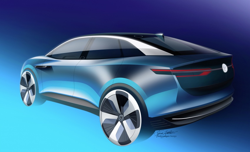 Volkswagen I.D. Crozz – coupe/SUV crossover EV debuts with 306 PS, all-wheel drive, 500 km range Image #647170