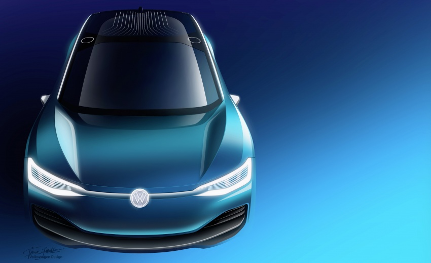Volkswagen I.D. Crozz – coupe/SUV crossover EV debuts with 306 PS, all-wheel drive, 500 km range Image #647171